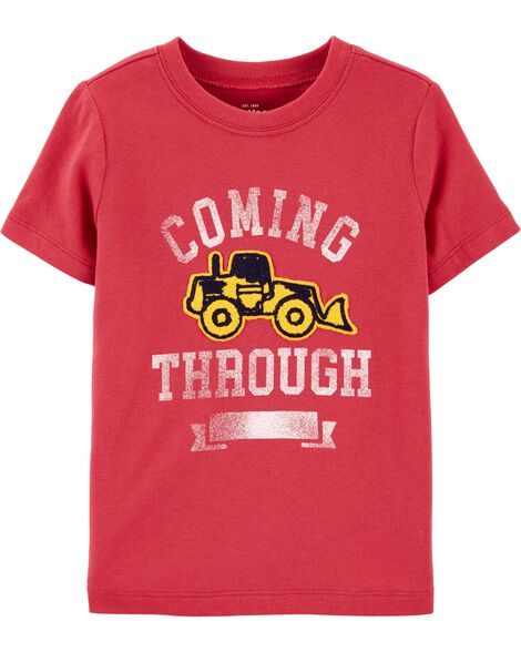 Tractor Chenille Tee