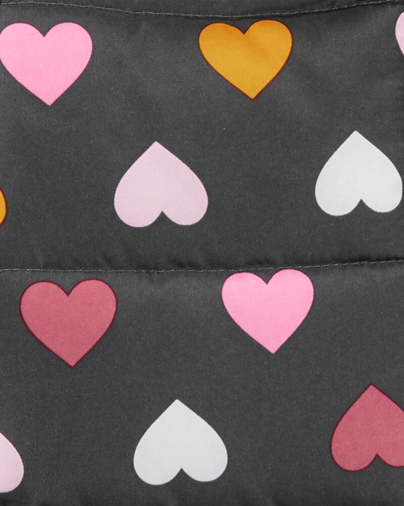 Heart Puffer Jacket, , hi-res