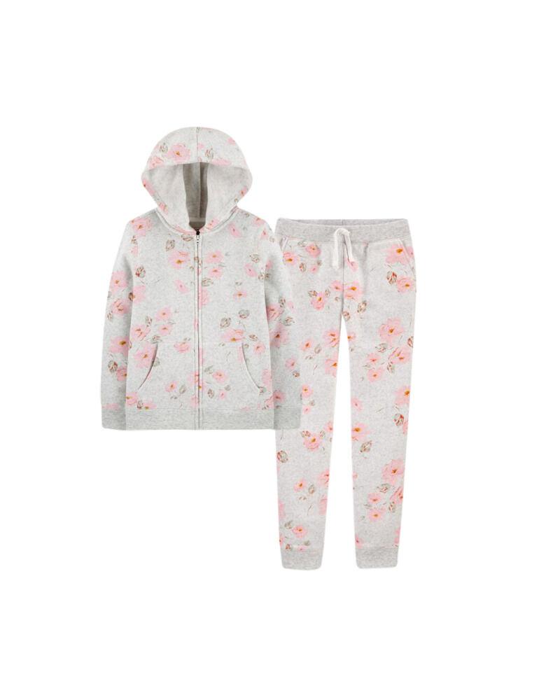 Floral Logo Fleece Set, , hi-res