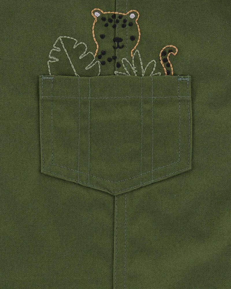 2-Piece Tiger Tee & Shortall Set, , hi-res
