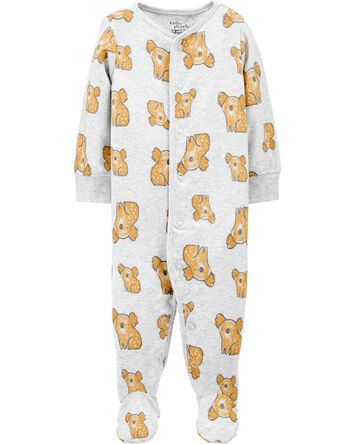 Certified Organic Cotton Koala Snap...