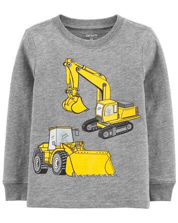 Construction Action Graphic Slub Je...