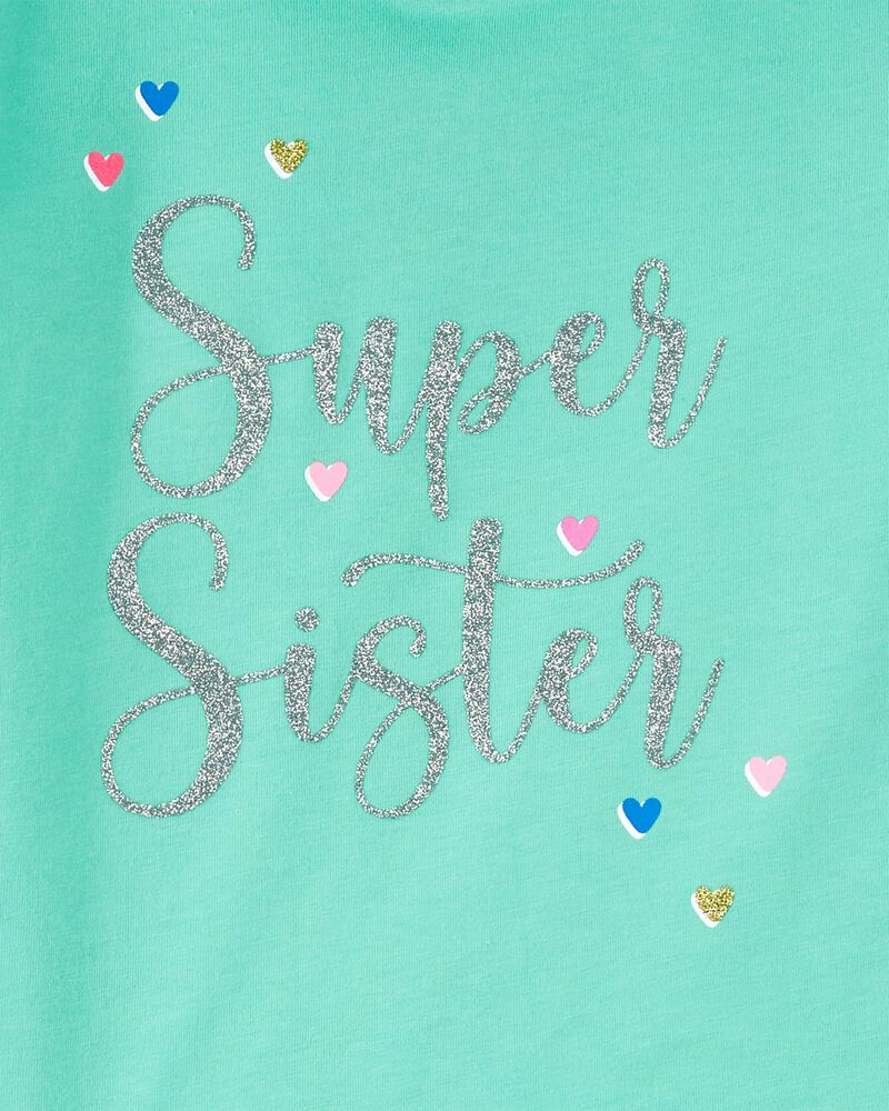 Super Sister Hooded Jersey Tee, , hi-res