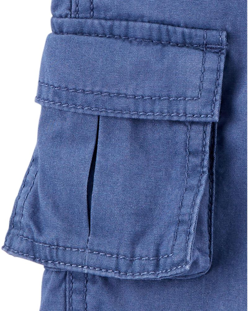 Jersey-Lined Cargo Overalls, , hi-res