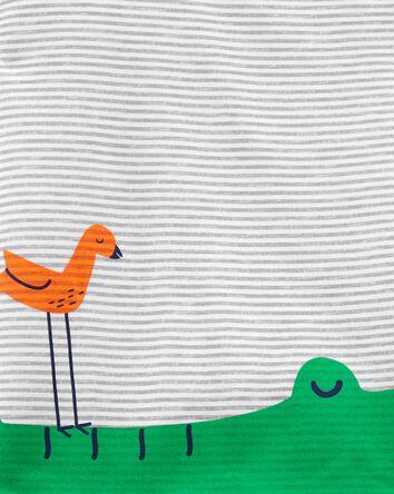 Pyjamas 3 pièces de coupe ample all...