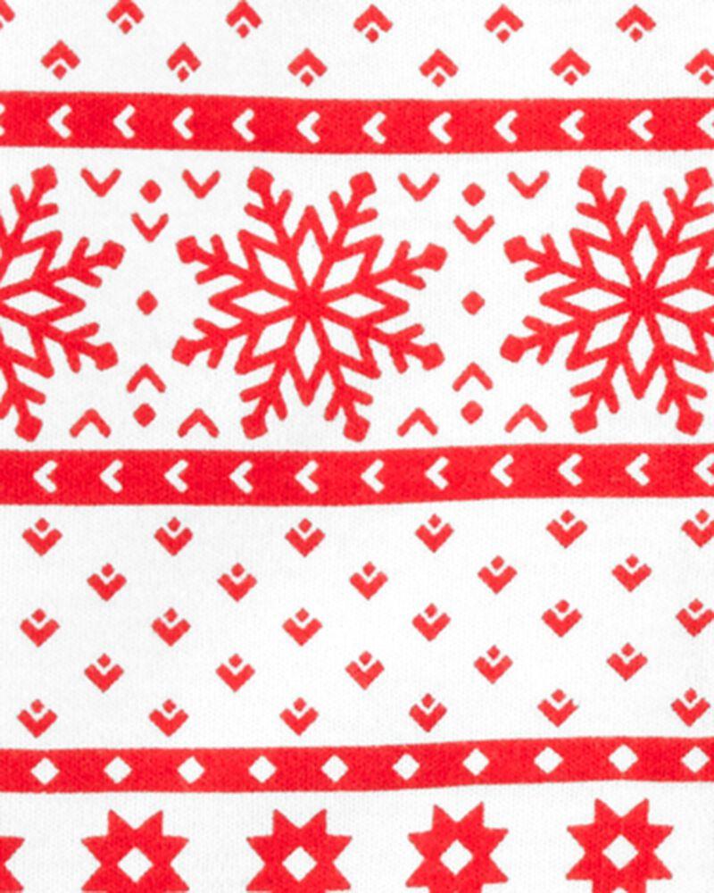 Christmas Snap-Up Cotton Footless Sleep & Play, , hi-res
