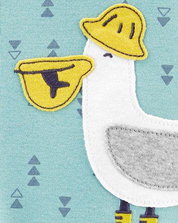 1-Piece Pelican 100% Snug Fit Cotto...