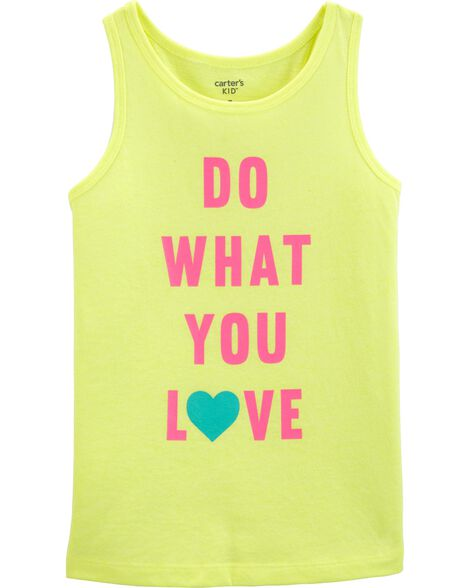 Neon Do What You Love Tank