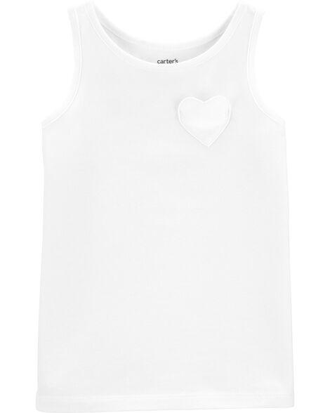 Heart Pocket Jersey Tank