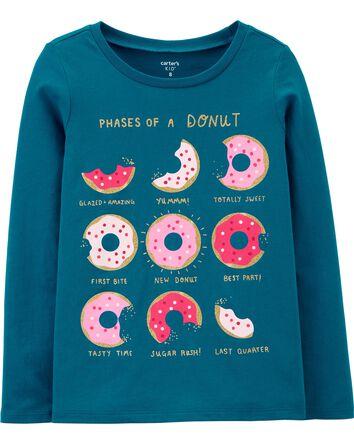Donut Moon Jersey Tee