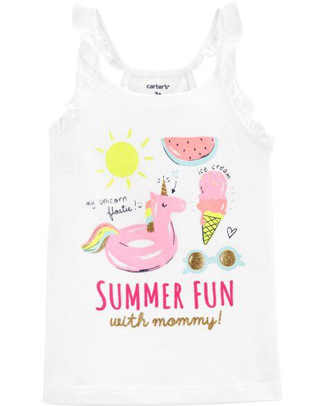 Summer Fun Flutter Tank