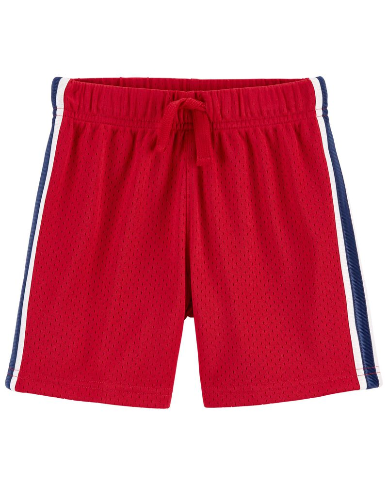 Short de sport en filet, , hi-res
