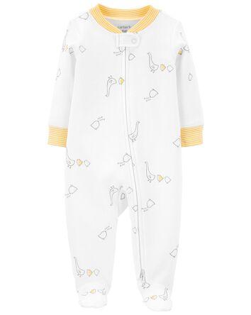 1-Piece Duck 2-Way Zip Cotton Sleep...