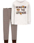 2-Piece 100% Snug Fit Cotton PJs, , hi-res