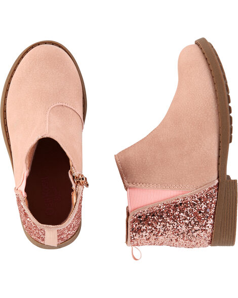 Glitter Ankle Boots