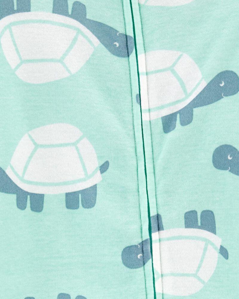 Grenouillère sans pieds en coton avec glissière à tortue, , hi-res