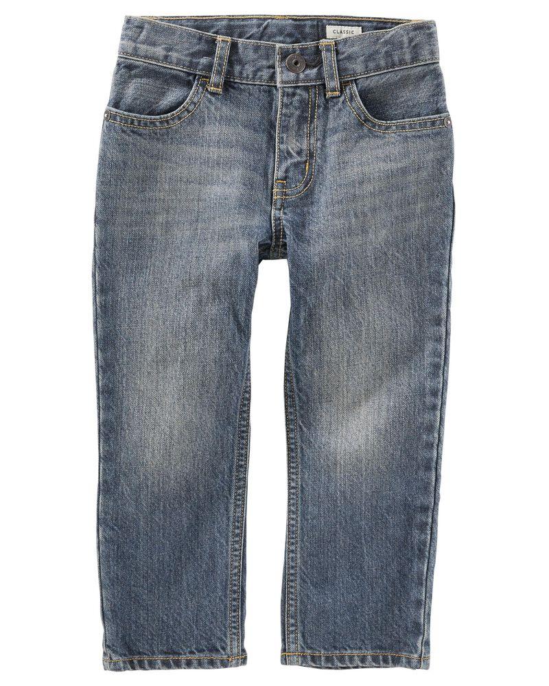 Jeans classique - délavage bleu véritable Rail Tie, , hi-res