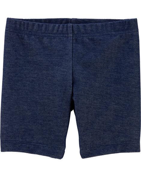 Knit Denim Playground Shorts