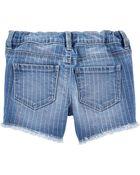 Rainbow Stretch Denim Shorts, , hi-res