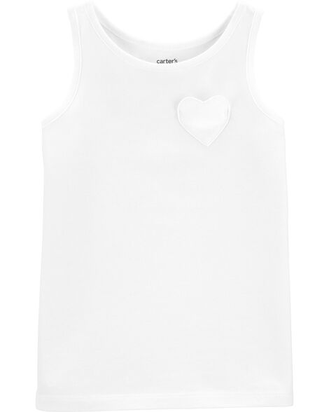 Heart Pocket Jersey Tank