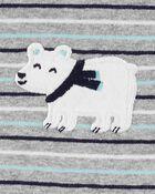 3-Piece Polar Bear Bodysuit & Sleep & Play Set, , hi-res