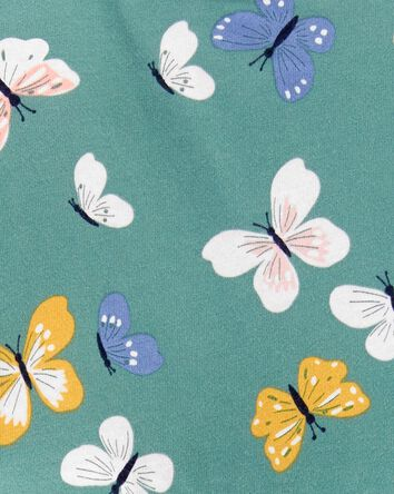 2-Piece Butterfly Peplum Bodysuit P...