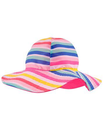 Chapeau à bord souple réversible