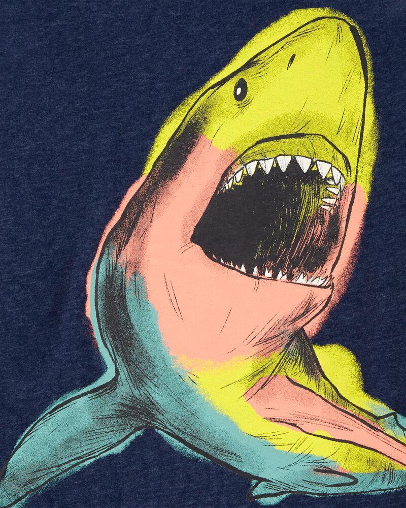 Glow Shark Snow Yarn Jersey Tee, , hi-res