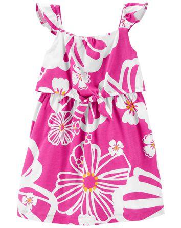 Tropical Jersey Dress