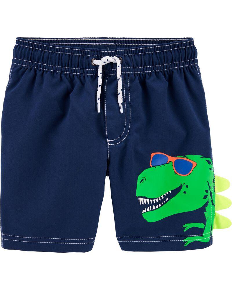 Carter's Dinosaur Swim Trunks, , hi-res