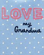 Cache-couche à imprimé Love My Grandma, , hi-res