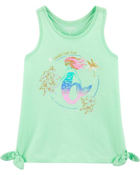 Mermaid Side Tie Tank