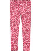 Ditsy Floral Jersey Leggings, , hi-res
