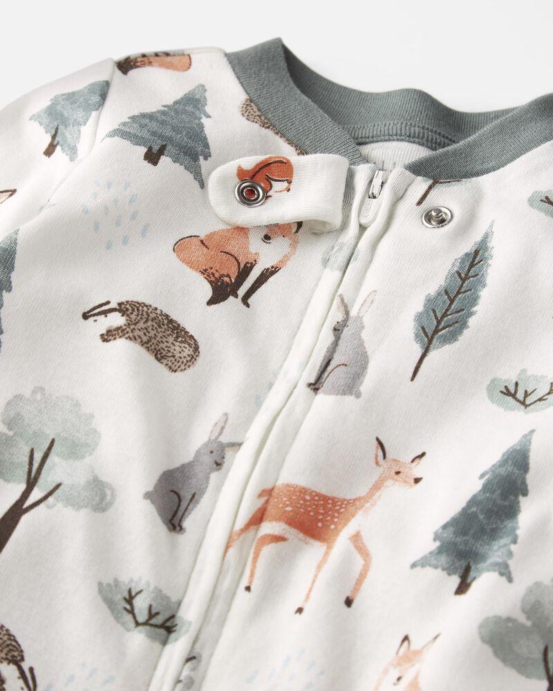 Organic Cotton 2-Way Zip Sleep & Play, , hi-res