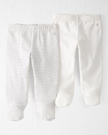 Emballage de 2 pantalons en coton c...