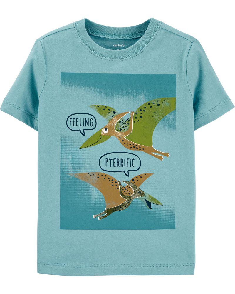 T-shirt en jersey Feeling Pterrific , , hi-res
