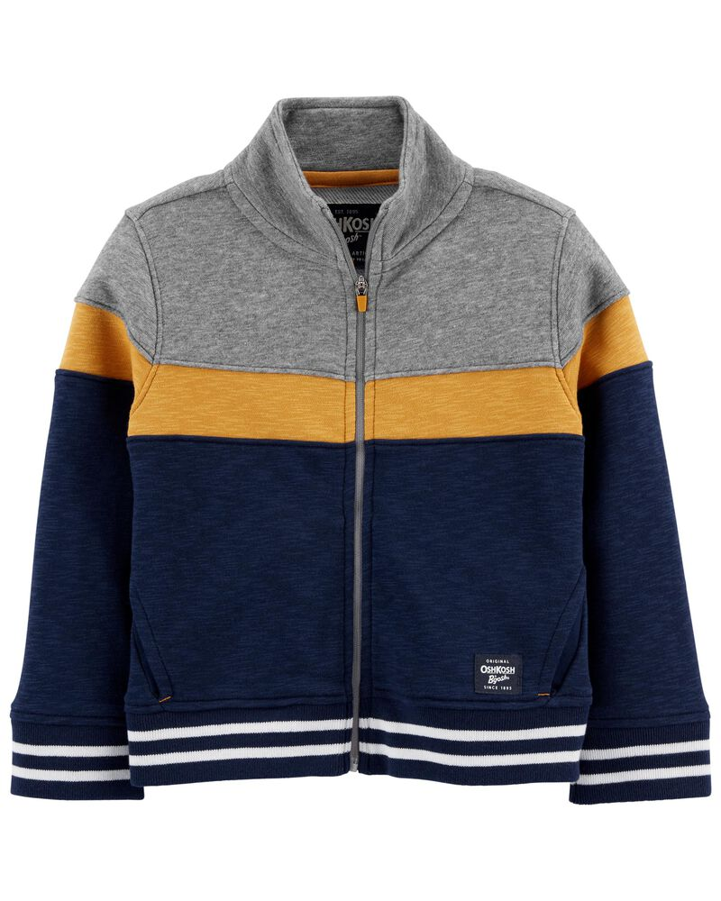 French Terry Active Jacket, , hi-res