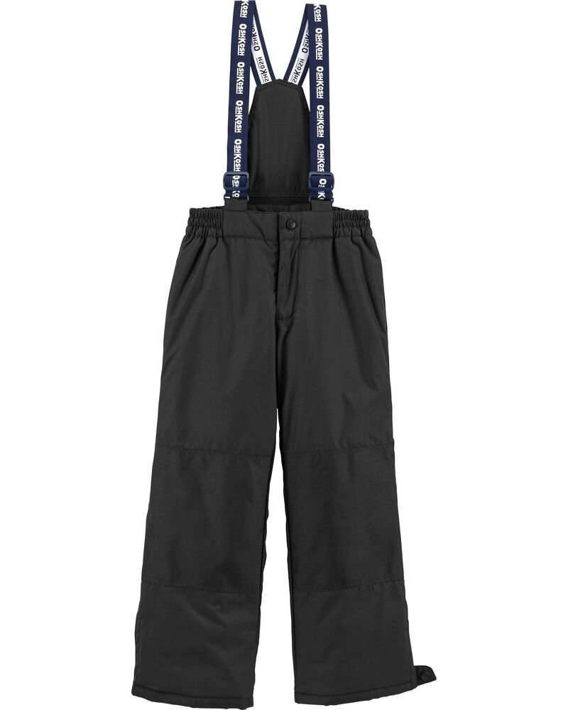 Snow Pants With Removable Bib, , hi-res