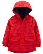 Fleece-Lined Rescue Rain Jacket, , hi-res