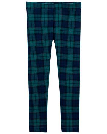 Legging à motif écossais