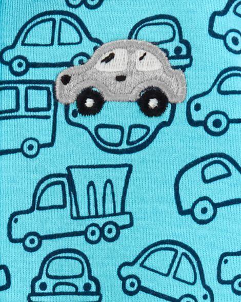 Car Zip-Up Jumpsuit