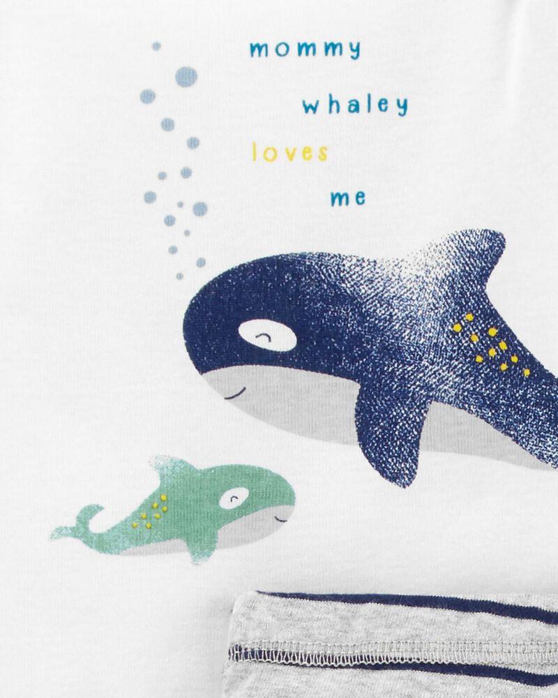 3-Piece Whale Little Character Set, , hi-res