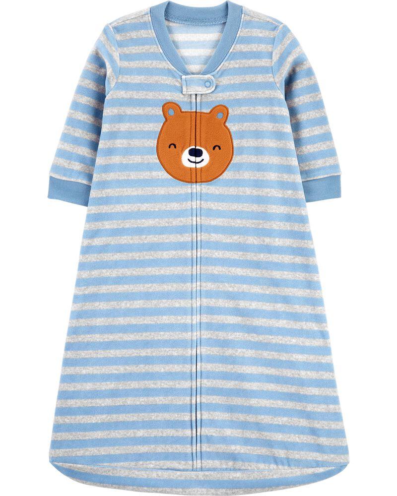 Striped Fleece Sleep Bag, , hi-res