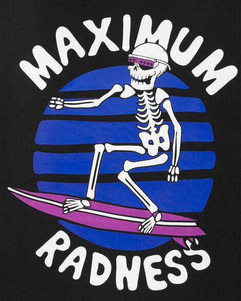 Maillot dermoprotecteur à squelette surfeur