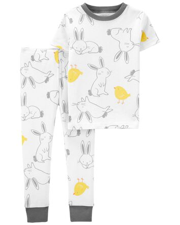 2-Piece Easter 100% Snug Fit Cotton...