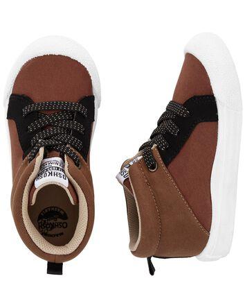 Chaussures en toile de coupe haute