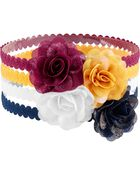 4-Pack Plume Headbands, , hi-res