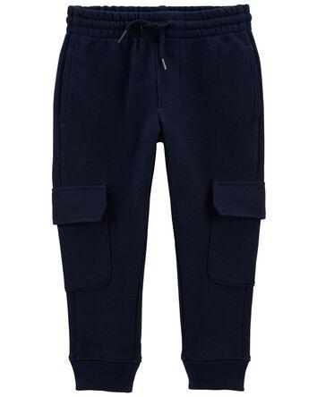 Pantalon de jogging cargo en jersey...