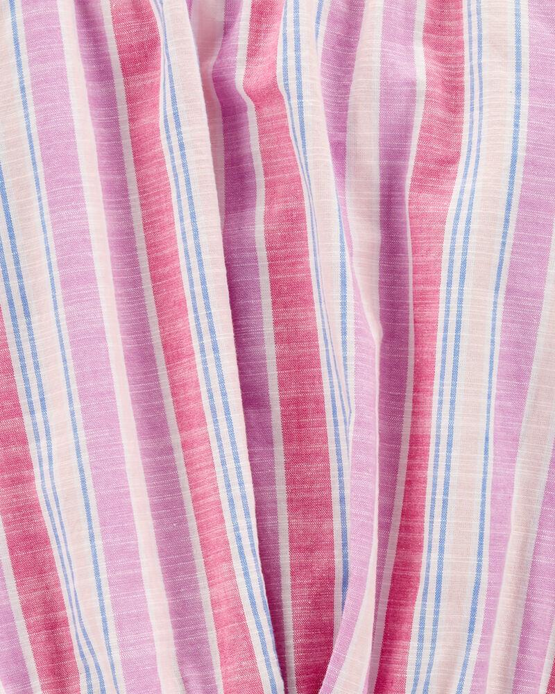 Pull-On Striped Romper, , hi-res