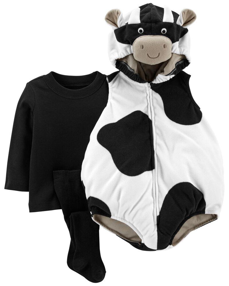 Costume d'Halloween petite vache, , hi-res